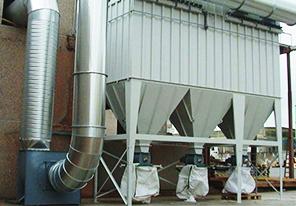 建材粉尘处理-袋式除尘器
