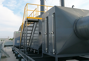 涂装废气处理-活性炭吸附净化系统