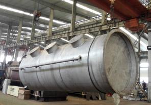 能达不锈钢吸收塔等废气处理设备解决金属压铸公司废气废灰废烟问题