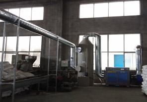 塑料废气处理项目使用废气喷淋塔和uv光解废气净化设备后顺利通过环评检测