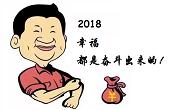 """感恩一路有你,2018""""幸福都是奋斗出来的""""!"""