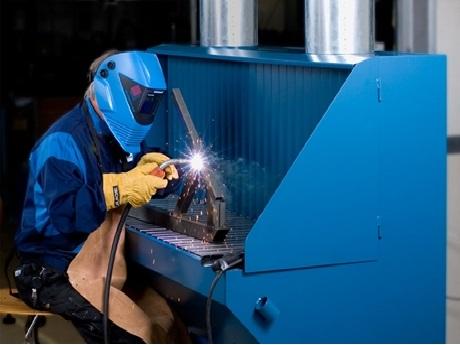 焊接打磨除尘解决方案